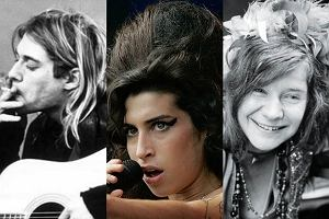 Kurt Cobain, Amy Winehouse, Janis Joplin.
