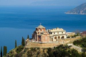 Grecja. Athos - kobietom wstęp wzbroniony