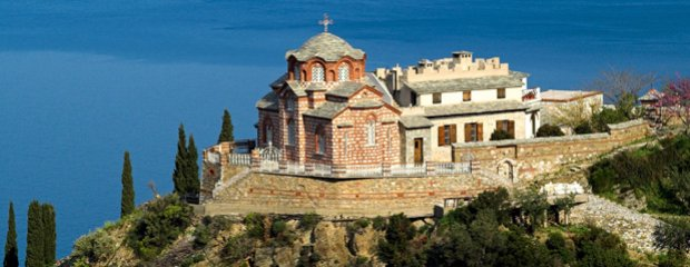 Najdziwniejsze miejsce w Grecji. Athos - klasztor, kt�ry od 1000 lat nie wpuszcza kobiet