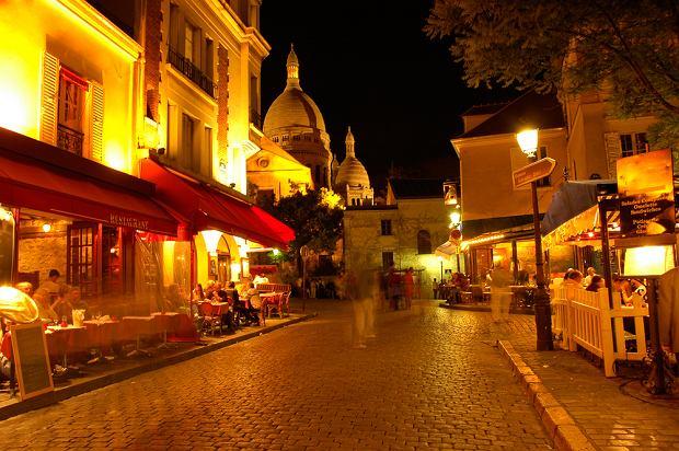 Paryż. Montmartre.