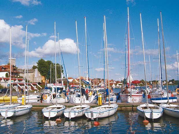 Port jachtowy w Mikołajkach