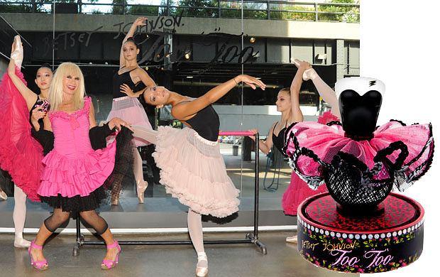 Perfumy Betsey Johnson inspirowane baletem