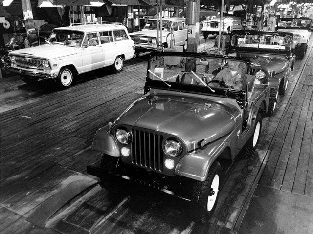 Fabryka Jeepa w 1982 roku