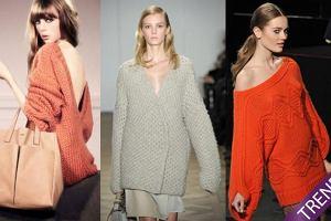 Trendy jesie�/zima 2011/12 - obszerne swetry