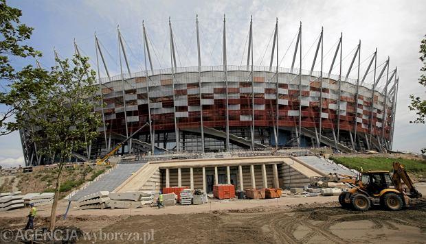Sponsor tytularny Stadionu Narodowego do końca roku