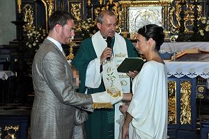 Ksi�na Dominika Kulczyk-Lubomirska, c�rka miliardera Jana Kulczyka i ksi��� Jan Lubomirski-Lanckoro�ski.