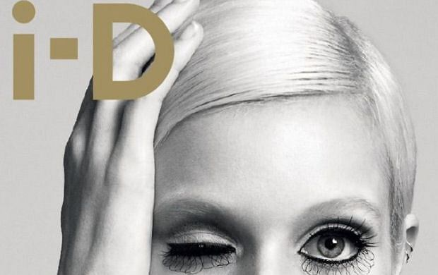 Abbey Lee Kershaw jako Twiggy w i-D