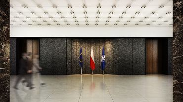 Tak miało wyglądać wnętrze MSZ po remoncie