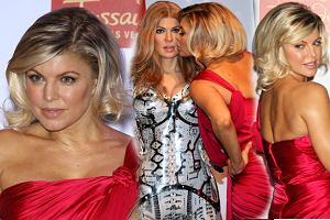 Elegancki bob z d�ugich w�os�w - Fergie stawia na zmiany