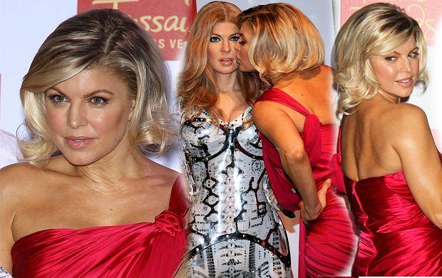 Elegancki bob z długich włosów - Fergie stawia na zmiany