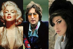 Monroe, Lenon, Winehouse.