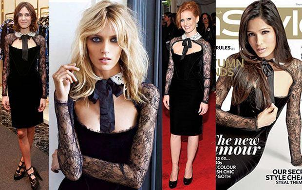 32fbb8abeede0 Suknia z kolorowymi piórami marki Gucci - zostanie kreacją roku ...