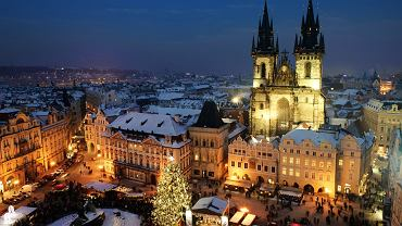 Praga zabytki, Czechy - Jarmark Świąteczny w Pradze