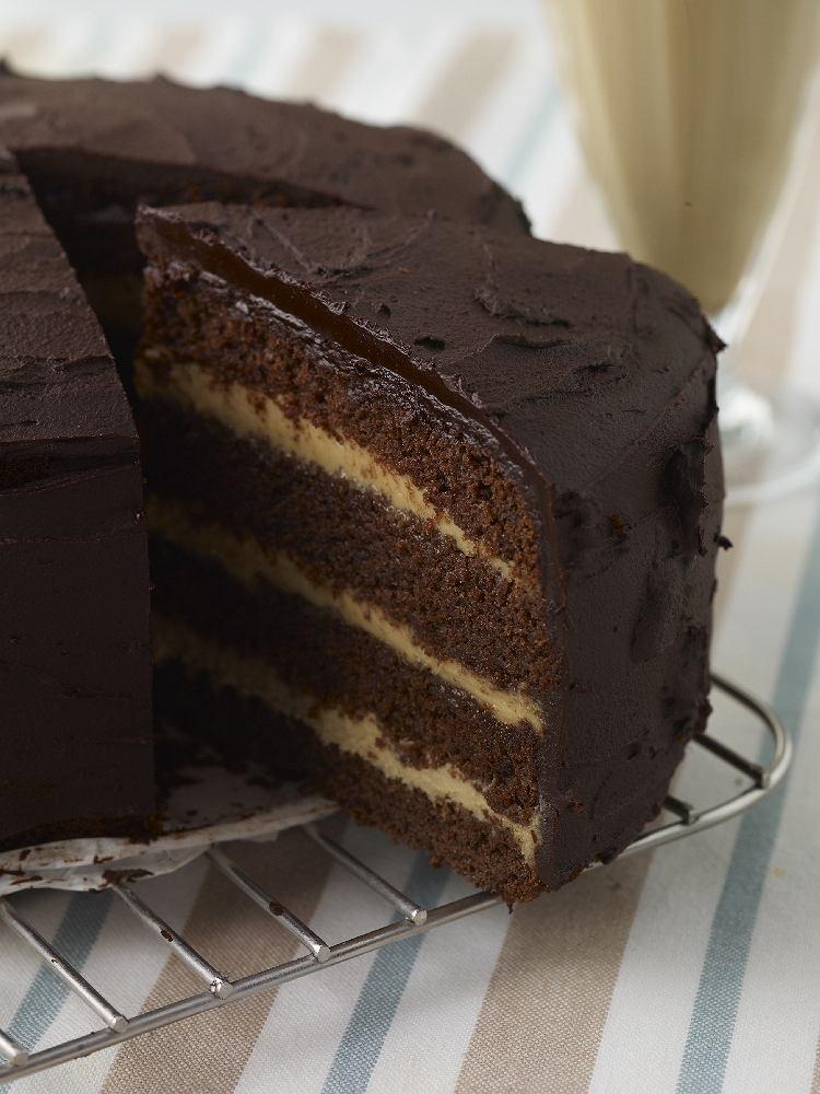 Tort z kremem mascarpone i likierem kawowym
