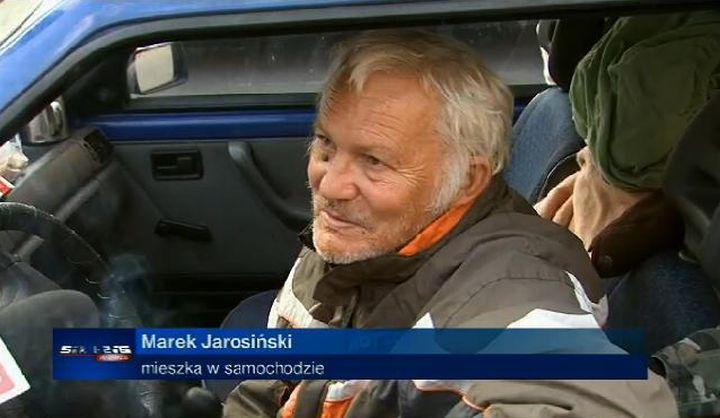 Marek Jarosiński, Monika Jarosińska, bezdomny