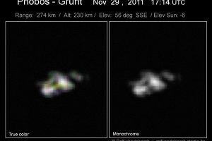 Fobos-Grunt: niepokojące obserwacje