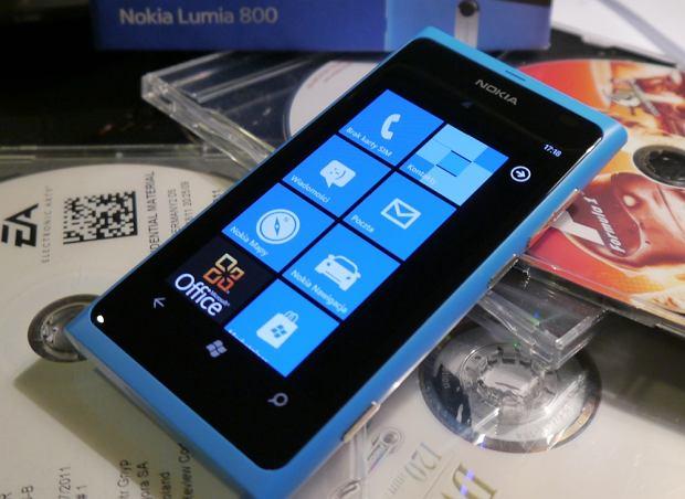 Nokia Lumia 800 w Polsce dopiero w 2012 roku. My już mamy