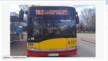 Autobus kibiców Legii