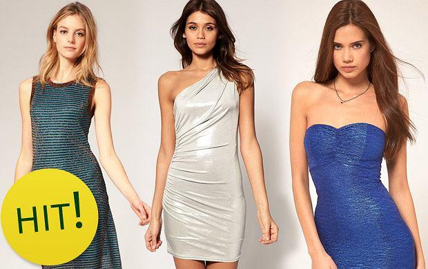 Po�yskliwe sukienki na sylwestra i karnawa� - przegl�d