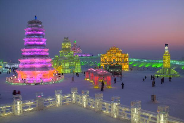 4 Festiwale Lodu Na świecie Chiny Kanada Japonia Norwegia