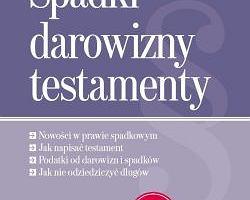 """Ksi��ka """"Spadki, darowizny, testamenty"""" z """"Gazet� Wyborcz�"""""""