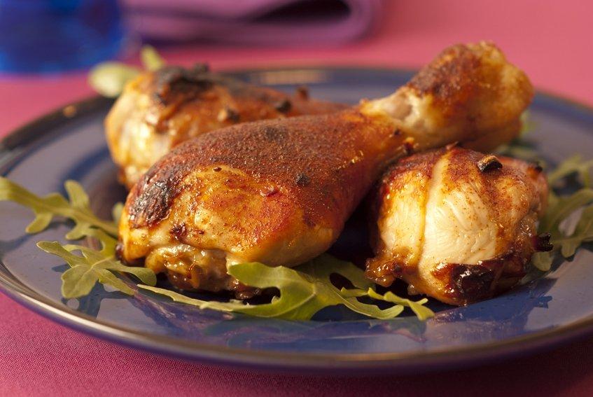 Pałki kurczaka w miodzie