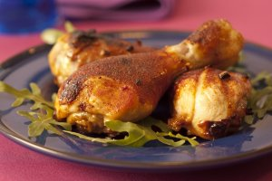 Kurczak pieczony - idealny na piknik!