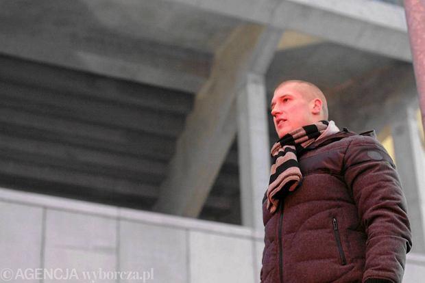 Nieformalny szef kibic�w Piotr