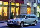 BMW Seria 5 Touring [E39] 97-00, rok produkcji 1998, kombi, widok przedni lewy, samoch�d 5-drzwiowy, kolor silver grey