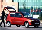 FIAT Seicento 98-05, rok produkcji 1998, coupe, widok przedni prawy, samoch�d 3-drzwiowy, kolor czerwony jasny