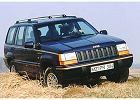 JEEP Grand Cherokee 93-99, rok produkcji 0, kombi, widok przedni prawy, samoch�d 5-drzwiowy, kolor niebieski jasny