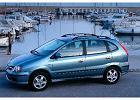 NISSAN Almera Tino, rok produkcji 2000, mpv, widok przedni lewy, samoch�d 5-drzwiowy, kolor zielony jasny