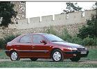 CITROEN Xsara 97-01, rok produkcji 1998, coupe, widok przedni prawy, samoch�d 5-drzwiowy, kolor bordeaux (czerwony ciemny)