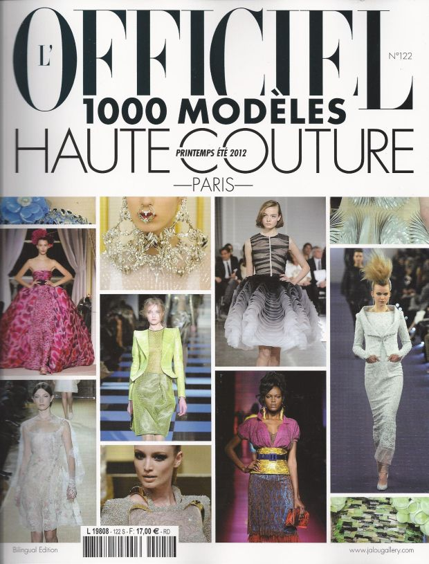 Eva Minge, l'officiel, pokaz mody, paryż
