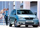 TOYOTA Corolla Hatchback 02-04, rok produkcji 2002, coupe, widok przedni prawy, samoch�d 3-drzwiowy, kolor niebieski jasny