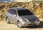KIA Rio Hatchback 02-05, rok produkcji 2003, coupe, widok przedni prawy, samoch�d 5-drzwiowy, kolor silver grey