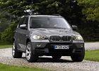 BMW X 5 [E70] 07-, rok produkcji 2007, kombi, widok przedni prawy, samoch�d 5-drzwiowy, kolor silver grey