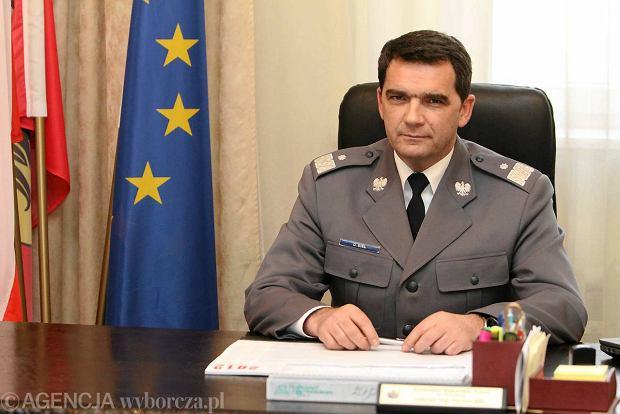 Gen. Dariusz Biel, komendant dolno�l�skiej policji