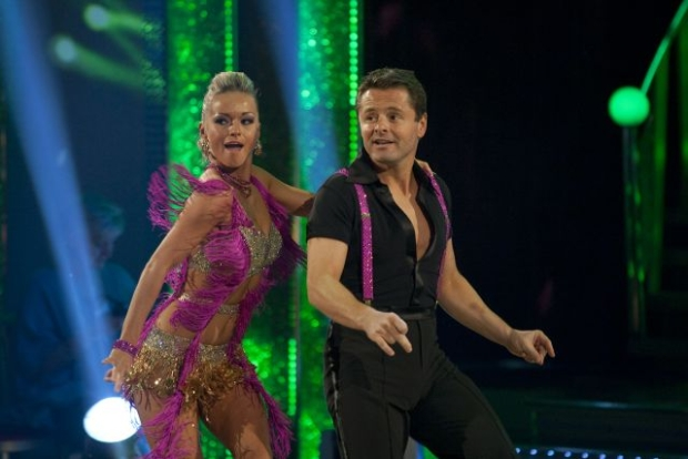 PICTURE SHOW: Chris Hollins (Strictly Come Dancing partner is Ola Jordan)