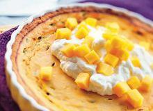 Tarta z marakują i mango - ugotuj