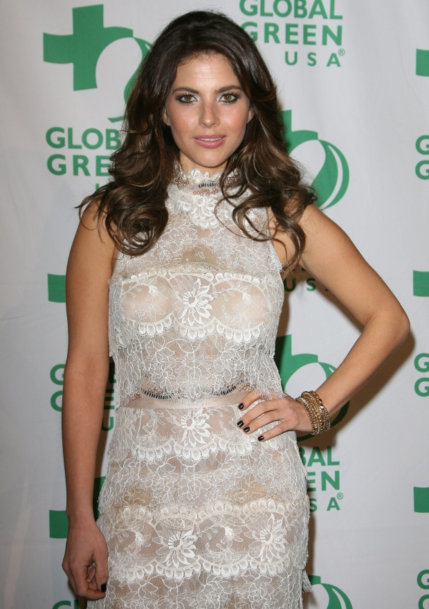 22 February 2012 - Hollywood, California - Weronika Rosati. Global Green USA's 9th Annual Pre-Oscar Party held at the Avalon.    CAP/ADM  ?AdMedia/Capital Pictures
