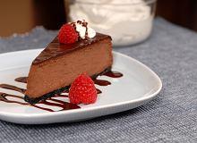 Sernik bardzo czekoladowy - ugotuj