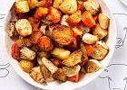 Warzywa z tymiankiem pieczone w oliwie