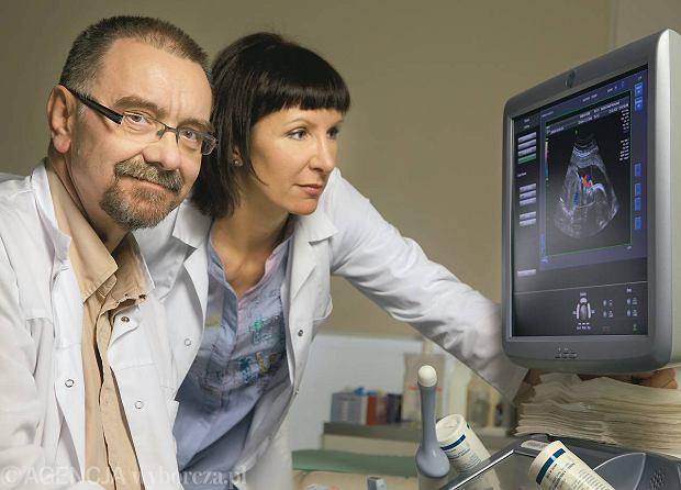 Prof. dr hab. med. Romuald Dębski i dr n. med. Marzena Dębska ze Szpitala Bielańskiego w Warszawie