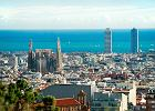 Hiszpania. Widok na Barcelon� z Parku Guell