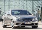 MERCEDES-BENZ Klasa S [W 221] 09-, rok produkcji 2009, sedan, widok przedni prawy, samoch�d 4-drzwiowy, kolor silver grey