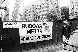 Najwi�ksze awarie na budowie pierwszej linii metra