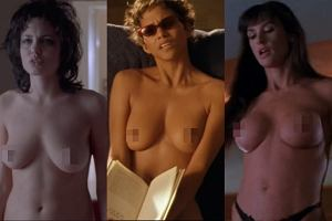 Angelina Jolie, Halle Berry, Demi Moore