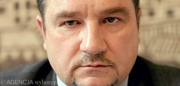 Piotr Duda, przewodnicz�cy NSZZ