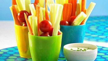 Tęczowe warzywa